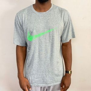 Nike Dri fit tee. Size large fits large. No flaws